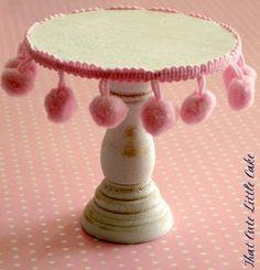 {Craft} DIY Mini Cupcake Stands | That Cute Little Cake