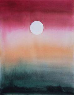 """""""Moonrise V"""" by Emily Proud"""