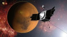 NASA Craft Is Orbiting Mars, to Study Its Air - NYTimes.com