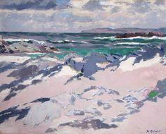 Francis Campbell Boileau Cadell (Scottish, 1883-1937), Treshnish Point, Iona.