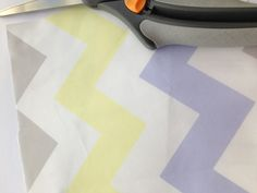 Gray Peri Yellow Chevron fabric by Stickelberry  Available on Spoonflower.com #fabric #wallpaper #wrapping paper