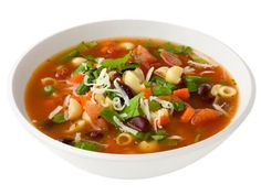 Get Minestrone Soup Recipe from Food Network