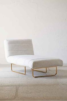 Shop Oliver Sleeper Chaise at Urban Outfitters today. We carry all the latest styles, colors and brands for you to choose from right here. Chic Living Room, Cozy Living Rooms, Living Spaces, Office Sofa, Home Office, Urban Outfitters, Living Room Essentials, Sofa Shop, Apartment Furniture