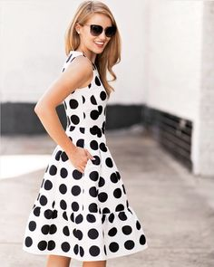 """Lonestar Southern on Instagram  """"The polka dotted princess dress of my  dreams. Oh  katespadeny afd354005"""