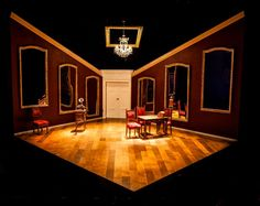 I Am My Own Wife. The MAC, Belfast. Scenic and lighting design by Ciaran Bagnall. 2012