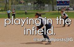 I'm A Third Base Baby! Softball Cheers, Softball Quotes, Girls Softball, Baseball Mom, Baseball Cards, Softball Things, Softball Stuff, Softball Problems, 3 Strikes