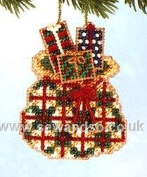 Buy Santa's Sack Cross Stitch Kit Online at www.sewandso.co.uk