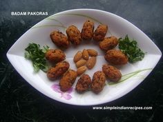 Badam Pakora - Almond Fritters | Simple Indian Recipes