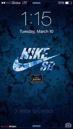 Nike SB stefan janoski blue floral (adaptation/fusion of airmax city floral tokyo)