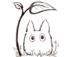 Popular items for totoro illustration on Etsy
