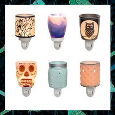 SCENTSY NEW NIGHTLIGHT WARMERS FALL/WINTER 2016