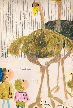 my vintage book collection (in blog form).: Who's in the Egg? - illustrated by Alice and Martin Provensen