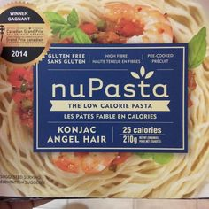 "@stephbelding on Instagram: ""Is is really neat stuff- plant based, gf, and 25 calories @nupasta #konjac #vegan #pasta #gf #easy"""