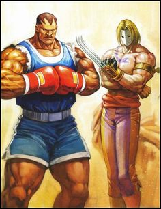 Vega and Balrog