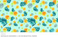 Nathalie-Ouederni-Watercolor-Citrus-Wallpaper