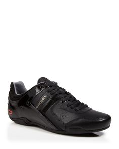 lace-up sneakers - Black Diesel kY1m5v