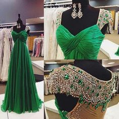 Cheap prom dresses Buy Quality prom dresses directly from China elegant prom dress Suppliers: Sparkly Green Long elegant Prom Dresses 2017 Robe De Soiree Beaded Sheer Back vestidos de festa vestido longo Party Dresses Gorgeous Prom Dresses, Prom Dresses 2016, A Line Prom Dresses, Prom Party Dresses, Formal Evening Dresses, Party Gowns, Evening Gowns, Formal Prom, Dress Formal
