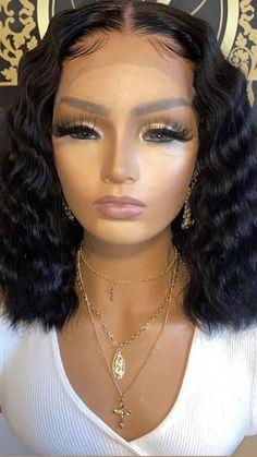 Lace Front Wigs, Lace Wigs, Baby Doll Hair, Fresh Hair, Hair Laid, Hair Videos, Human Hair Wigs, Dark Skin, Wig Hairstyles