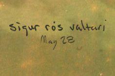"""¡Vuelven Sigur Rós! el 28 de mayo sale a la venta su nuevo trabajo """"Valtari""""  ¿Qué os parece su primer single Ekki múkk?  http://vimeo.com/39194761"""