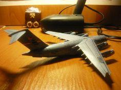 Boeing C-17 Globemaster III Transport Aircraft Paper Model Free Template…