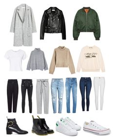 """""""Canada"""" by chanelstreet on Polyvore featuring H&M, Yves Saint Laurent, Unravel, RE/DONE, Topshop, River Island, Rejina Pyo, Gucci, Dr. Martens and Converse"""