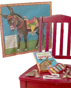 Old Fashioned Pin The Tail On The Donkey. I loved that game.