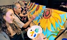 Groupon - One or Two 3-Hour Painting Classes at Painting & Vino - Orange County (Up to 46% Off) in Multiple Locations. Groupon deal price: $25
