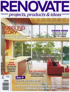 This edition of Renovate magazine includes a story about our Finishes Kit and how it can streamline the huge task of choosing finishes and fittings. Read it here: http://blog.my-architect.com.au/wp-content/uploads/Renovate-article2.jpg