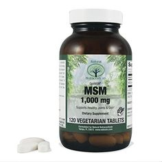 Natural Nutra OptiMSM Supplement, Methylsulfonylmethane (MSM) Sulfur, 1000 mg, 120 Vegan Tablets *** Check out this great product.
