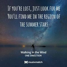 Walking in the Wind - One Direction