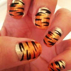 When you just need to bring out the animal in you! Barry M 'Tangerine' is hands down my favourite orange for this effect.