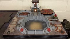 Armies On Parade 2014 has come and gone and I wanted to share with everyone this spectacular Red Templars Space Marine Airbase display done …