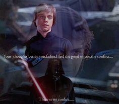 Anakin and Luke Skywlaker-Star Wars