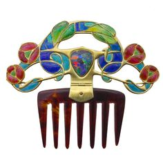 ARCHIBALD KNOX An Important Diadem Comb for Liberty & Co