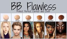 Younique's BB cream leaves your skin looking and feeling flawless! Order your perfect match now! www.joellegolany.com