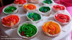 Fruity Eid party cupcakes