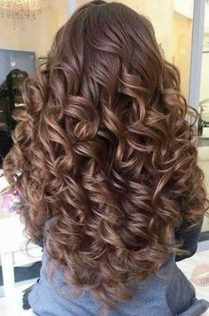 Spiral Perm vs Regular Perm: Spiral Perm Hairstyles and Tips - Angela Anhalt - S. Spiral Perm vs R Prom Hairstyles For Long Hair, Curls For Long Hair, Permed Hairstyles, Big Hair, Wavy Hair, Pretty Hairstyles, Easy Hairstyles, Perm Hair, Hair Perms