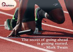"""Keep on going, and the chances are that you will stumble on something, perhaps when you are least expecting it. I never heard of anyone ever stumbling on something sitting down.""""  -- Charles F. Kettering Online Marketing Strategies, Keep Going, Get Started, Facts, Game, Tips, Gaming, Toy, Moving Forward"""