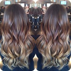 heartthejourney: current obsession // Balayage Ombre Hair