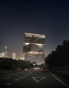 OMA Architecture reveals its striking design for the Netherlands new 650-room hotel