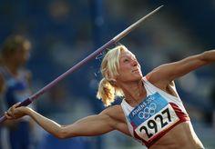 Olympic Javelin   Olympics Day 8 - Athletics (Yelena Prokhorova)