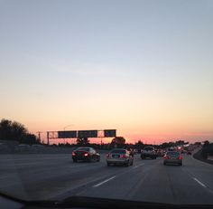 The drive home.