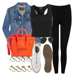 """""""Style #8780"""" by vany-alvarado ❤ liked on Polyvore featuring Acne Studios, M&Co, Topshop, Ray-Ban, Converse and ASOS"""