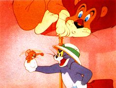"""Tom and Jerry """"Jerry and the Lion"""""""