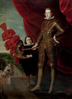 Philip IV was King of Spain and Portugal. He ascended the thrones in 1621 and reigned in Portugal until Philip is remembered for his patronage of the arts, including such artists as Diego Velázquez, and his rule over Spain during the Thirty Years' War. Types Of Armor, Gaspar, National Gallery Of Art, Art, Canvas Online, European Paintings, Old Portraits, Portrait, Art History