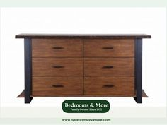 Exciting design meets true craftsmanship in the Kirana Dresser by Quality Bedroom. Available at Bedrooms & More Seattle.