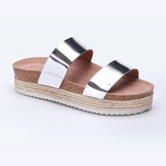 Another OBSESSION when it comes to the espadrille! We are utterly smitten with these sandals that have a platforms. So designer inspired are these shoes - literally perfect for summer with the dual straps & Summer shine! Platforms, Espadrilles, Things To Come, Design Inspiration, Inspired, Sandals, Lady, Summer, Shoes