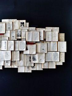 HOME & GARDEN: 43 inspirations pour savoir quoi faire avec de vieux livres