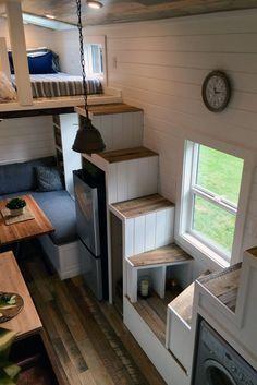 ROCKY MOUNTAIN TINY HOME | Tiny Heirloom Luxury Custom Built Tiny Homes