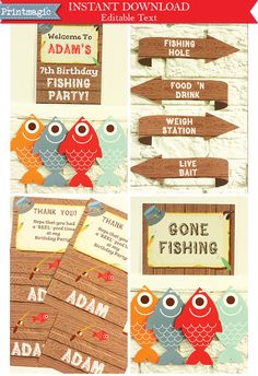 1000 ideas about fish party decorations on pinterest